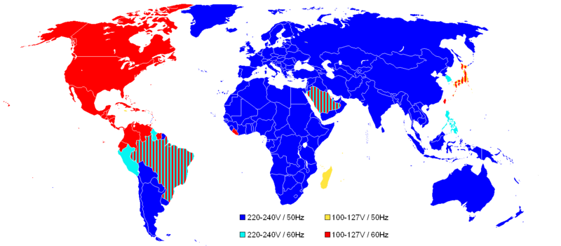 the world map. The map below shows the